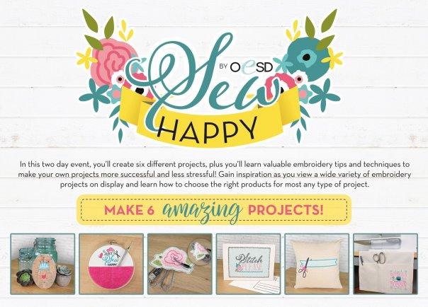 Sew Happy OESD event