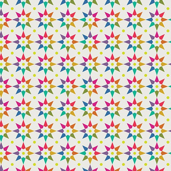 A-9703-L Day Rainbow Star Art Theory by Alison Glass Andover