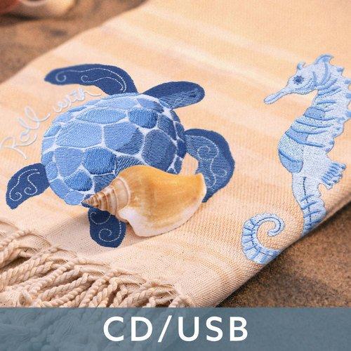 80321CD Bohemian Seaside by Sharon Lee OESD