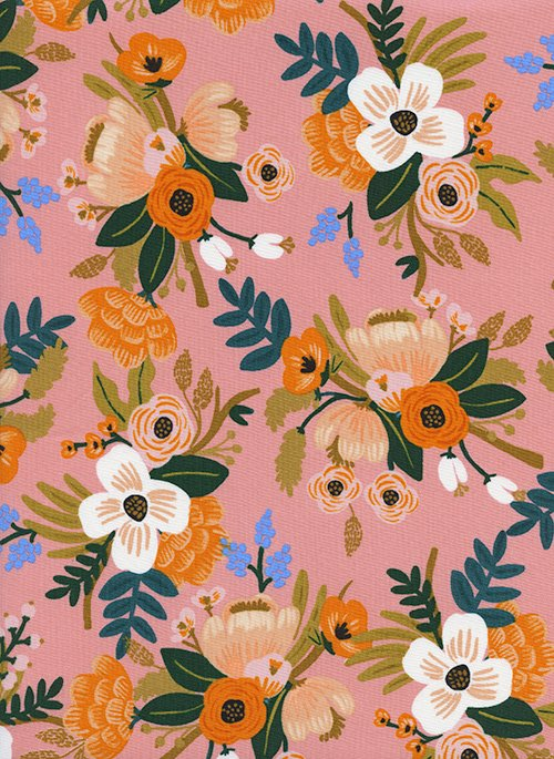 8052 15 Amalfi Lively Floral RAYON 44 Rifle Paper Co.