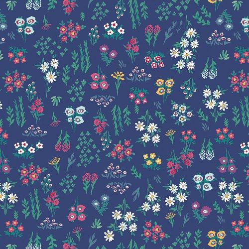 AQU-66757 Floral Pigments Wet Aquarelle Art Gallery Fabrics
