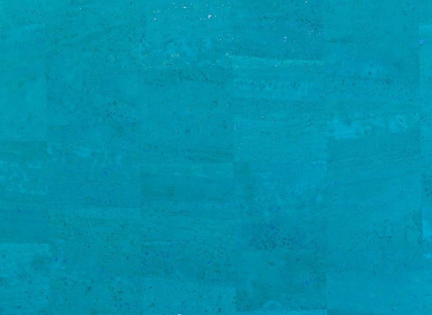 Bahama Blue Cork Roll 18 x 27