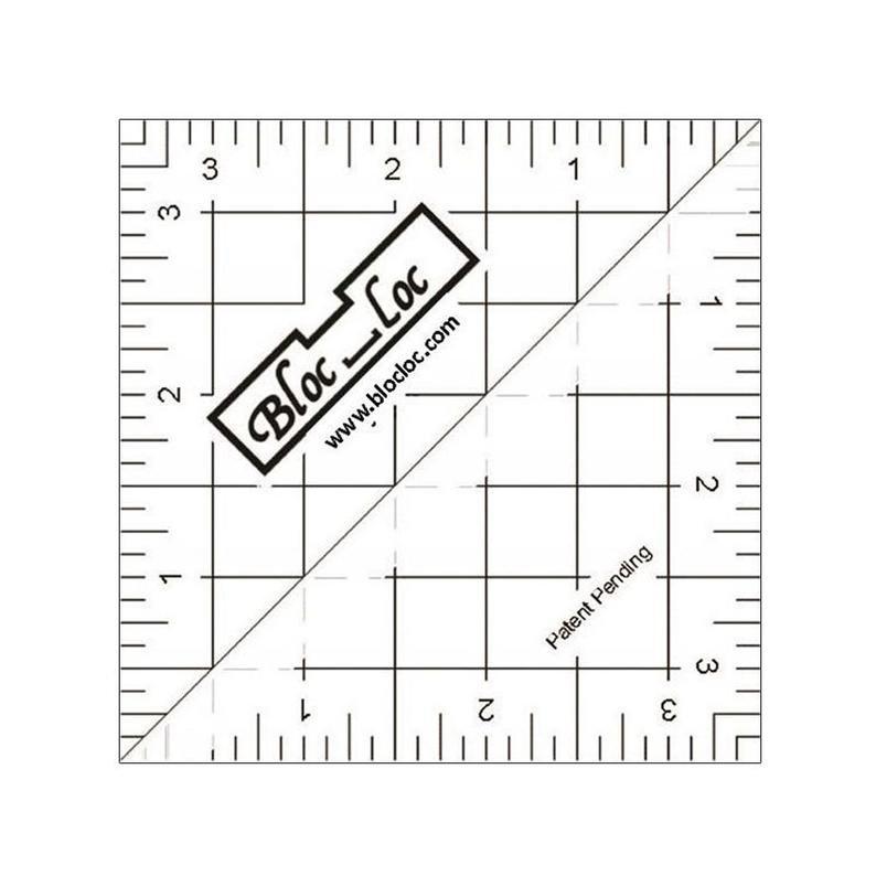 3.5 Bloc Loc Half Square Triangle Ruler