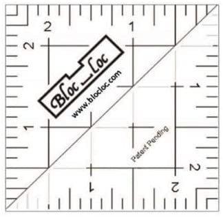 2.5 Bloc Loc Half Square Triangle Ruler