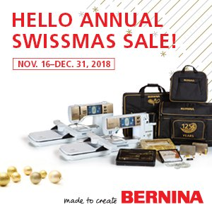 BERNINA Swissmas Specials