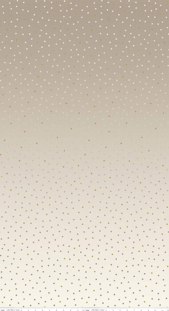 C8350-CARAMEL Neutral Caramel Tonal Ombre Gemstones Riley Blake