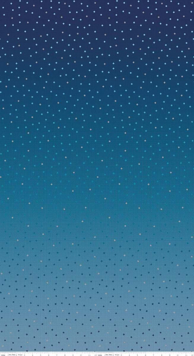 C8350-MIDNIGHTBLUE Neutral Midnight Blue Tonal Ombre Gemstones Riley Blake