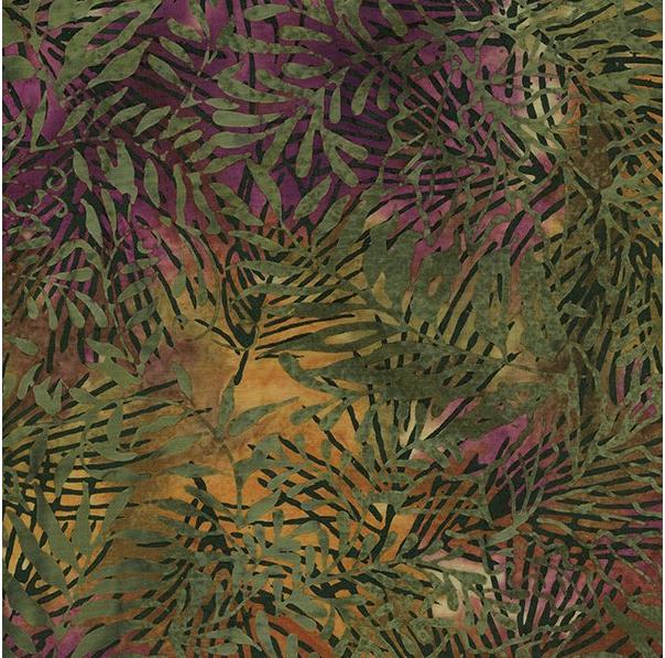 Willow Leaf Rayon Island Batik