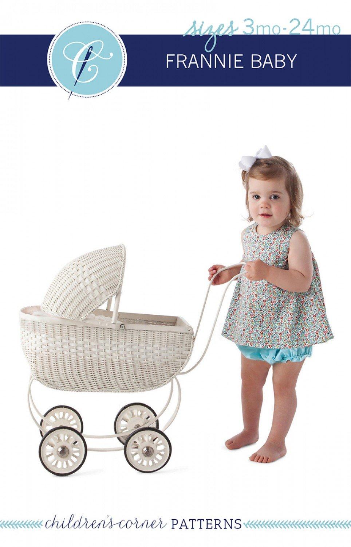 CC239 Frannie Baby 3-24mo Children's Corner Patterns