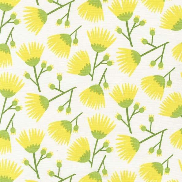 DC7810-CITR-D Tumbling Blooms Yellow Everglades Michael Miller