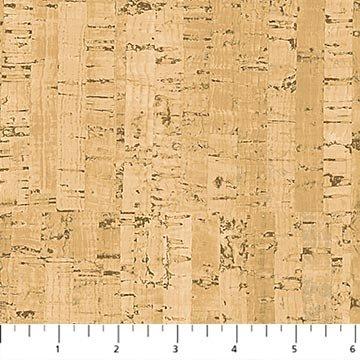 DP23582-14 Beige Cork Texture You Had Me at Wine Deborah Edwards Northcott