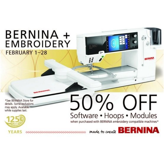BERNINA Feb Specials