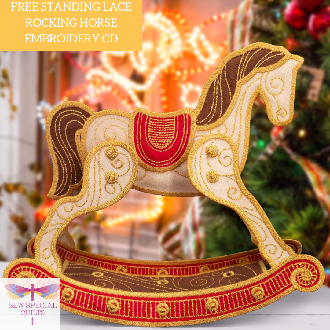 Freestanding Rocking Horse CD by OESD