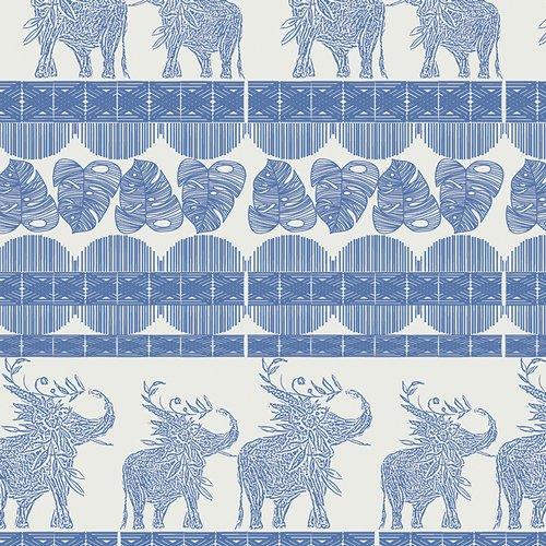 IDA-14804 Good Fortunes Royal from Indigo & Aster By Bari J