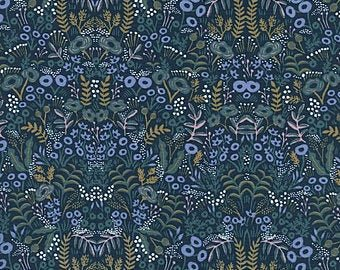 AB8031-001 Menagerie Rifle Paper Co Navy Flowers