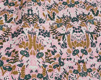 AB8031-002 Menagerie Rifle Paper Co Pink Flowers