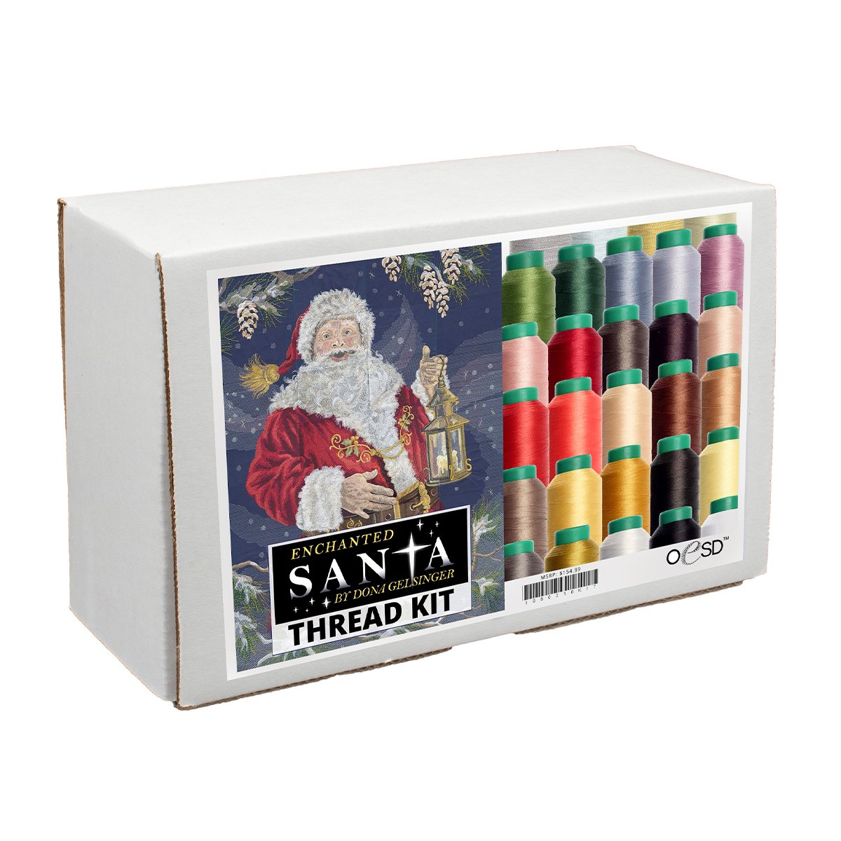 Enchanted Santa Thread Kit by OESD