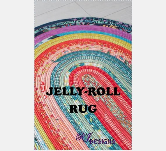 Jelly Roll Rug RJD 100 RJ Designs