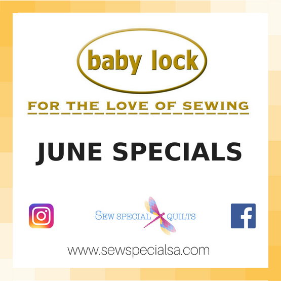 JUNE machine specials
