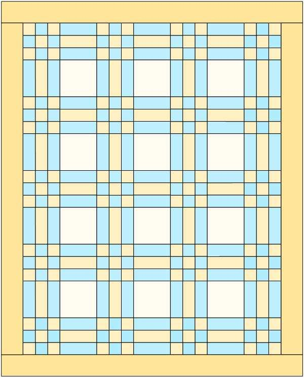 DOTS AND DASHES Jackie LAP QUILT Kit 50X62