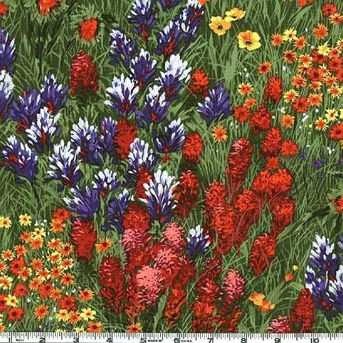 CX0400-Multi-D Multi Texas Wildflowers Michael Miller