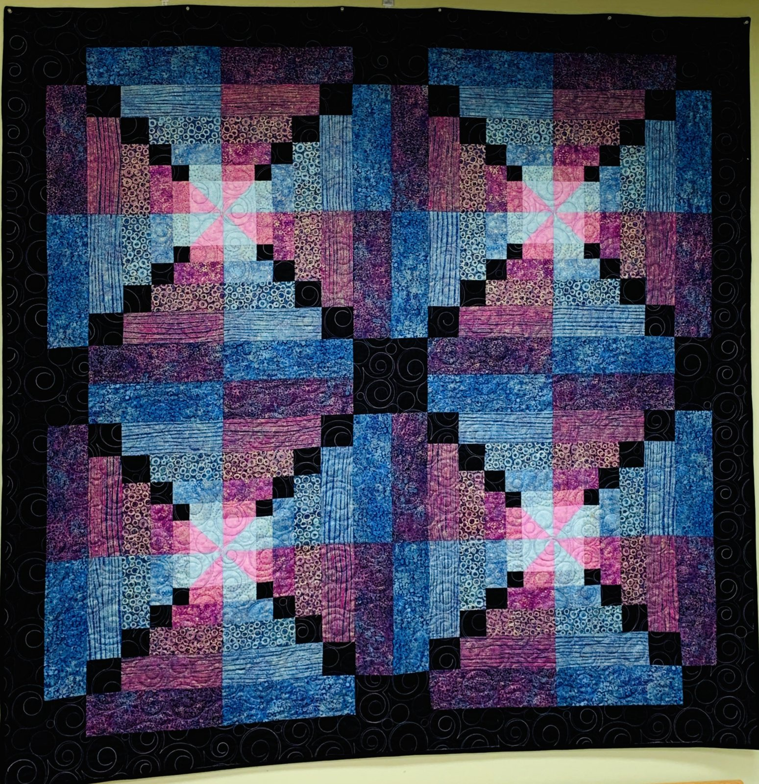 Shimmering Squares by Laurie Huhndorf