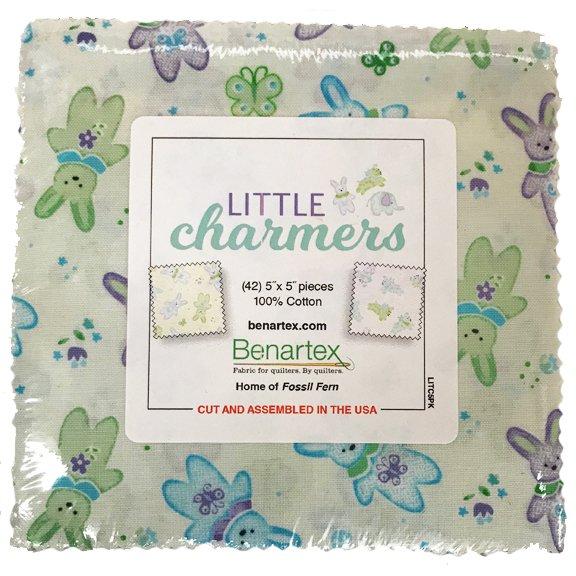 Little Charmers 5x5 Charm Pack Benartex