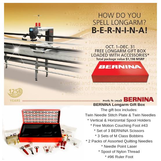 Longarm Specials BERNINA
