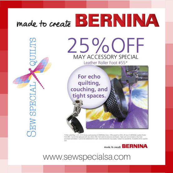 bernina Footspecial