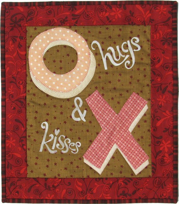 MM502 Monthly Minis February Hugs & Kisses Patch Abilities, Inc.