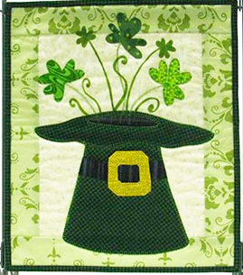 MM503 Monthly Minis March Leprechaun's Hat Patch Abilities, Inc.