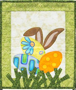 MM504 Monthly Minis April I See The Easter Bunny Patch Abilities, Inc.
