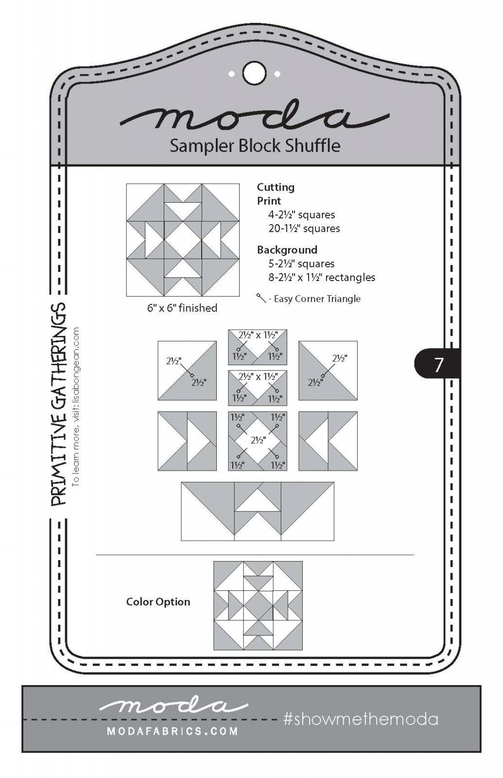Moda jSampler Block 7