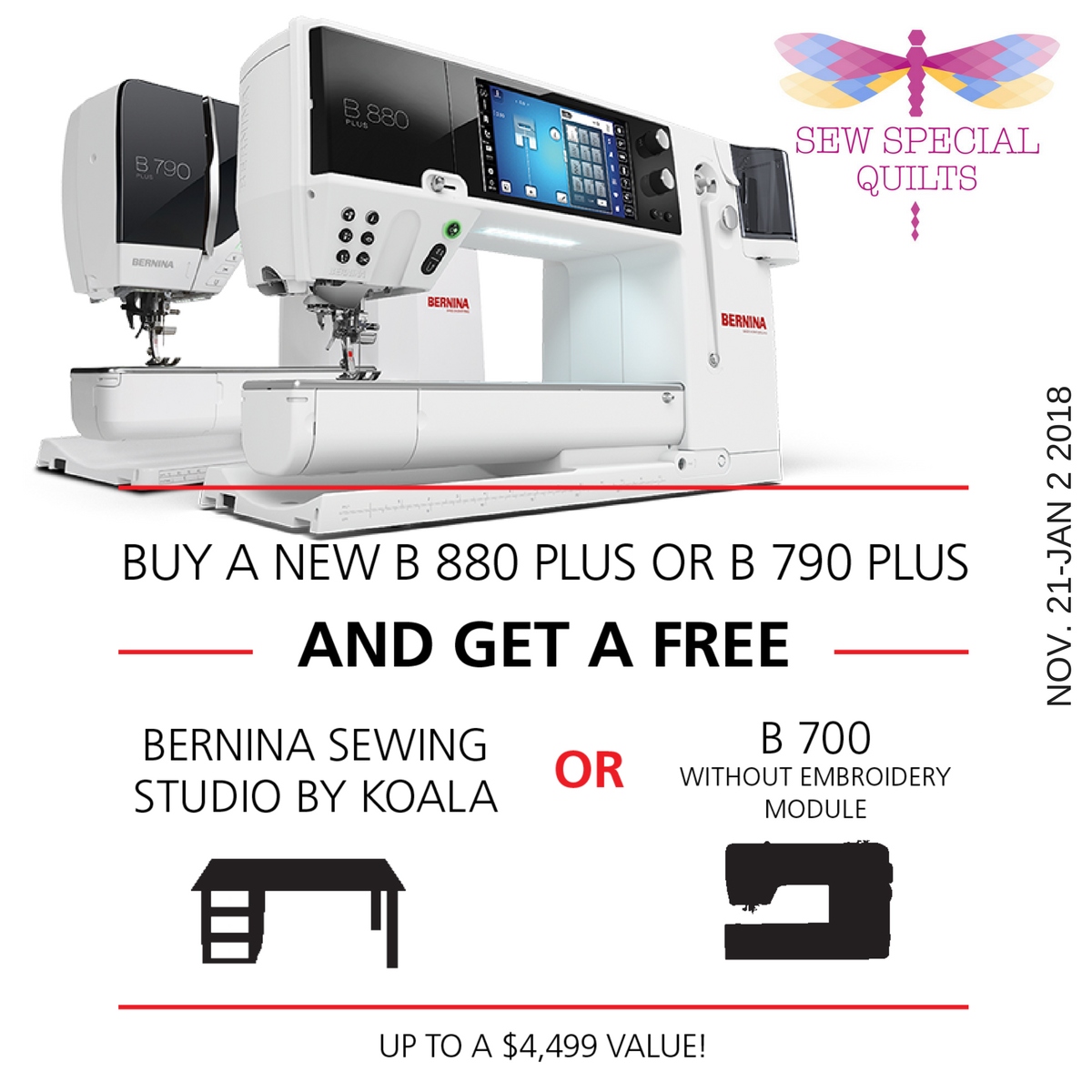 BERNINA Gift with Purchase