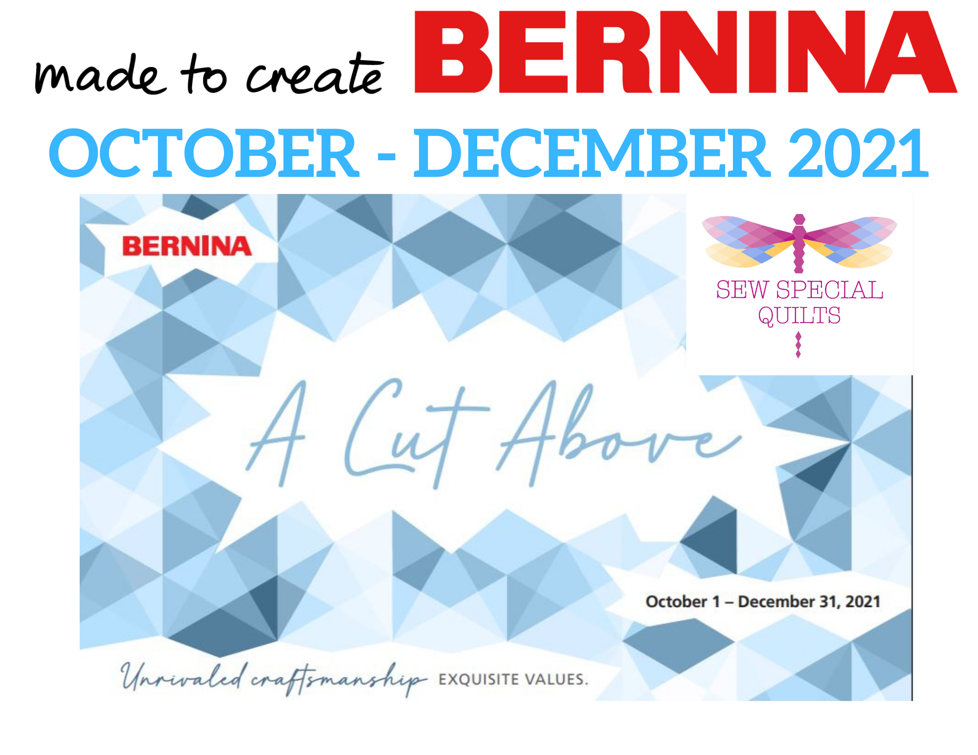 Holiday BERNINA Promotions