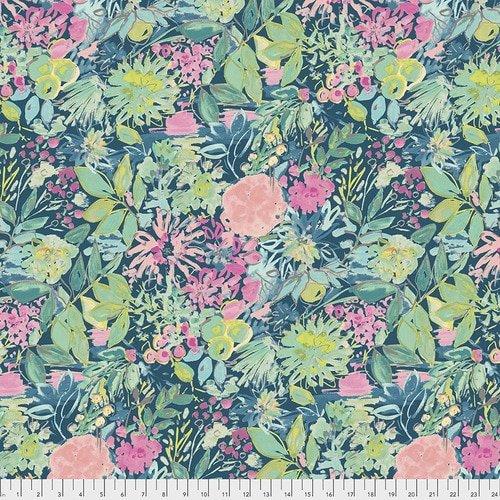PWDF305.AEGEAN Aegean Garden Grove Adelaide Free Spirit Fabrics