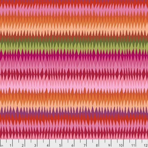 PWGP170.PINKX Diamond Stripe Pink Kaffe Fassett Free Spirit