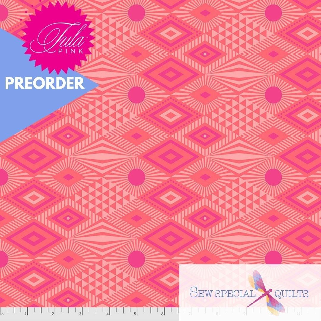 PWTP096.DRAGONFRUIT Lucy Daydreamer Tula Pink FreeSpirit Fabrics