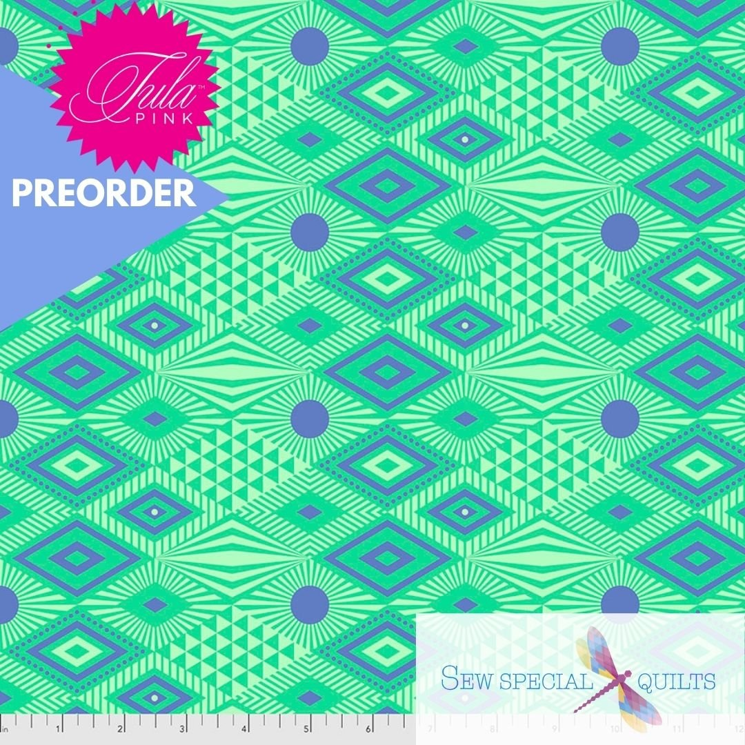 PWTP096.LAGOON Lucy Daydreamer Tula Pink FreeSpirit Fabrics