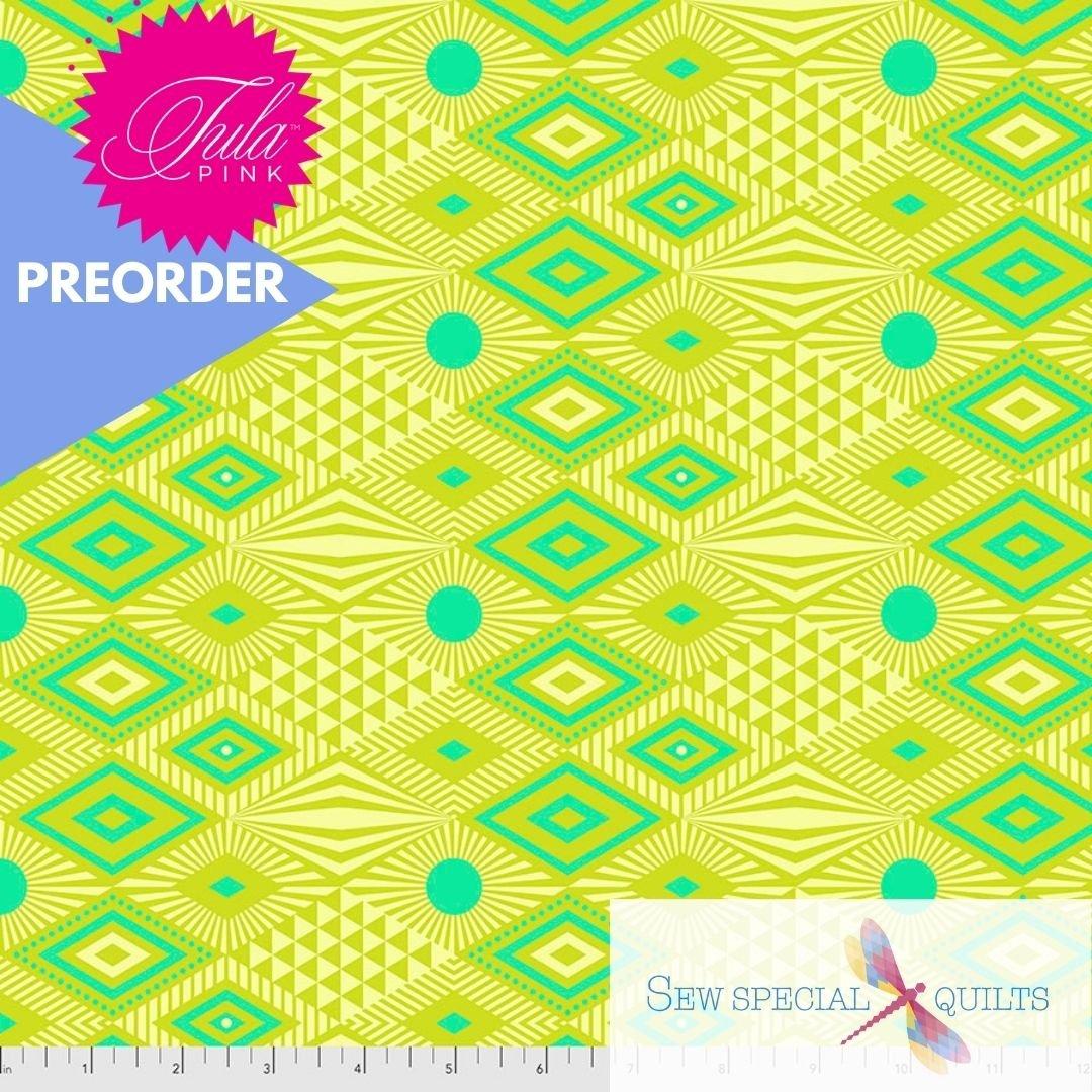 PWTP096.PINEAPPLE Lucy Daydreamer Tula Pink FreeSpirit Fabrics