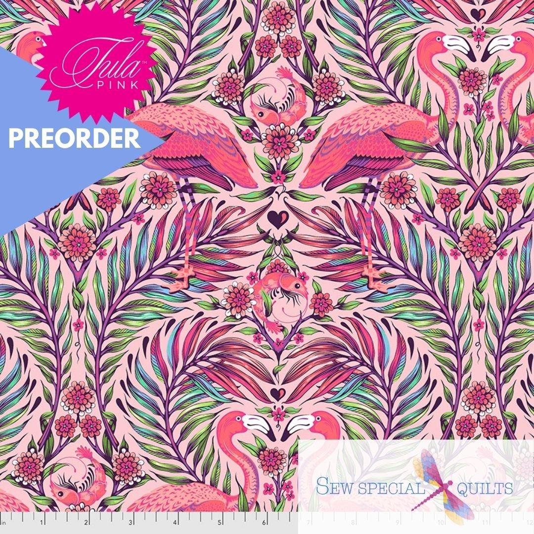 PWTP169.DRAGONFRUIT Pretty in Pink Daydreamer Tula Pink FreeSpirit Fabrics