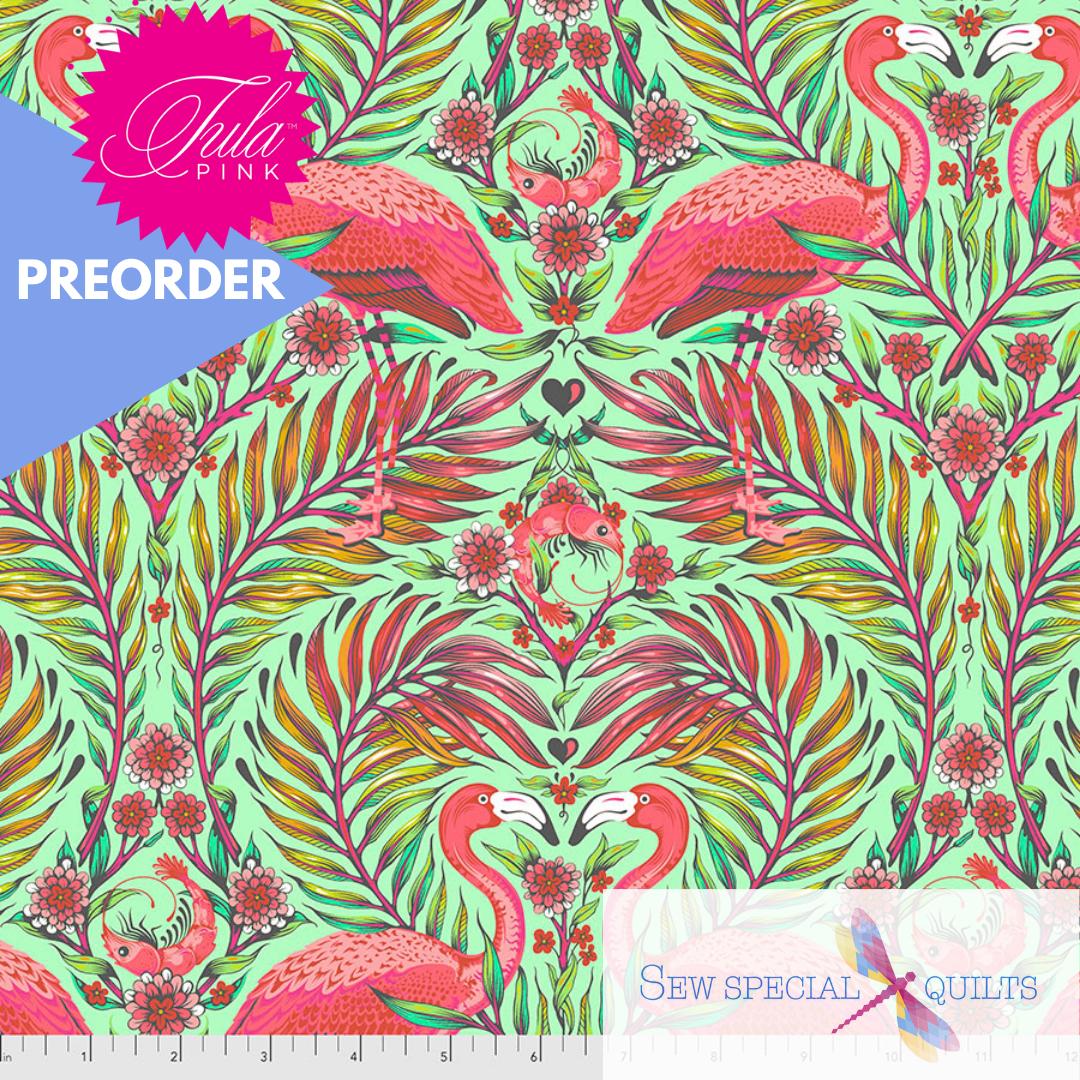 PWTP169.MANGO Pretty in Pink Daydreamer Tula Pink FreeSpirit Fabrics