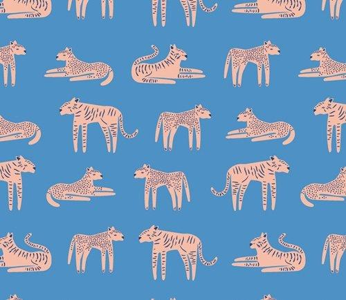 SLV-14512 Fierce Felines Fresh Selva Art Gallery Fabric