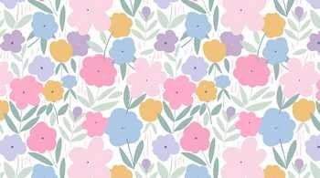 STELLA-1641 White Spring Flowers Music Box Dear Stella