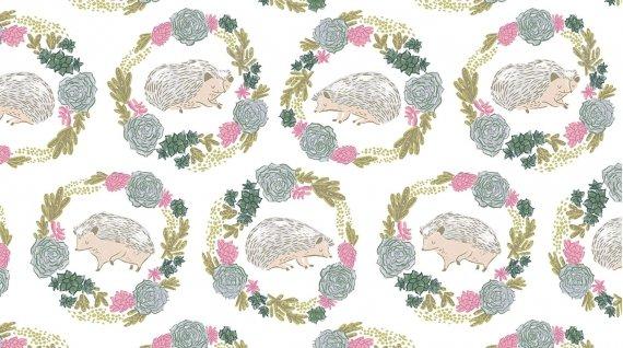 STELLA-SRR859 White Hedgehogs Dear Stella
