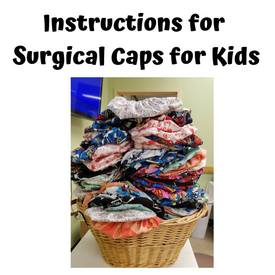 Surgical Hat Instructions
