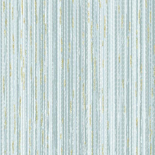 T7759-D7G Dusty Blue/Gold Home Sweet Home Hoffman Fabrics