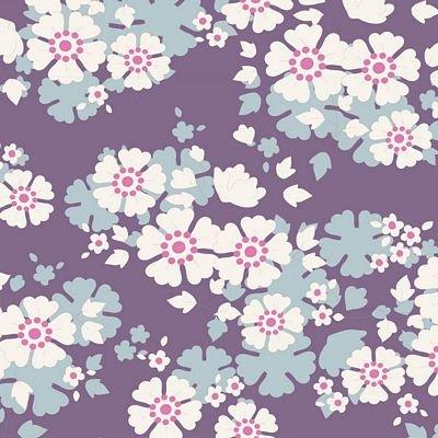 TIL100286 Aster Violet Woodland by Tilda Brewer