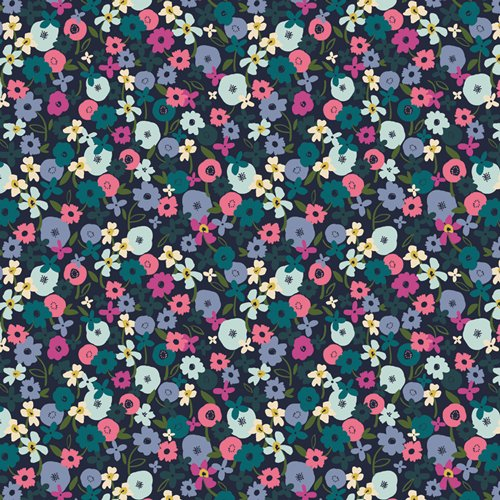 TRV-68123 Posy Nightfall Trouvaille Art Gallery Fabrics