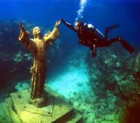 Key Largo Christ the Abyss Statue Dive